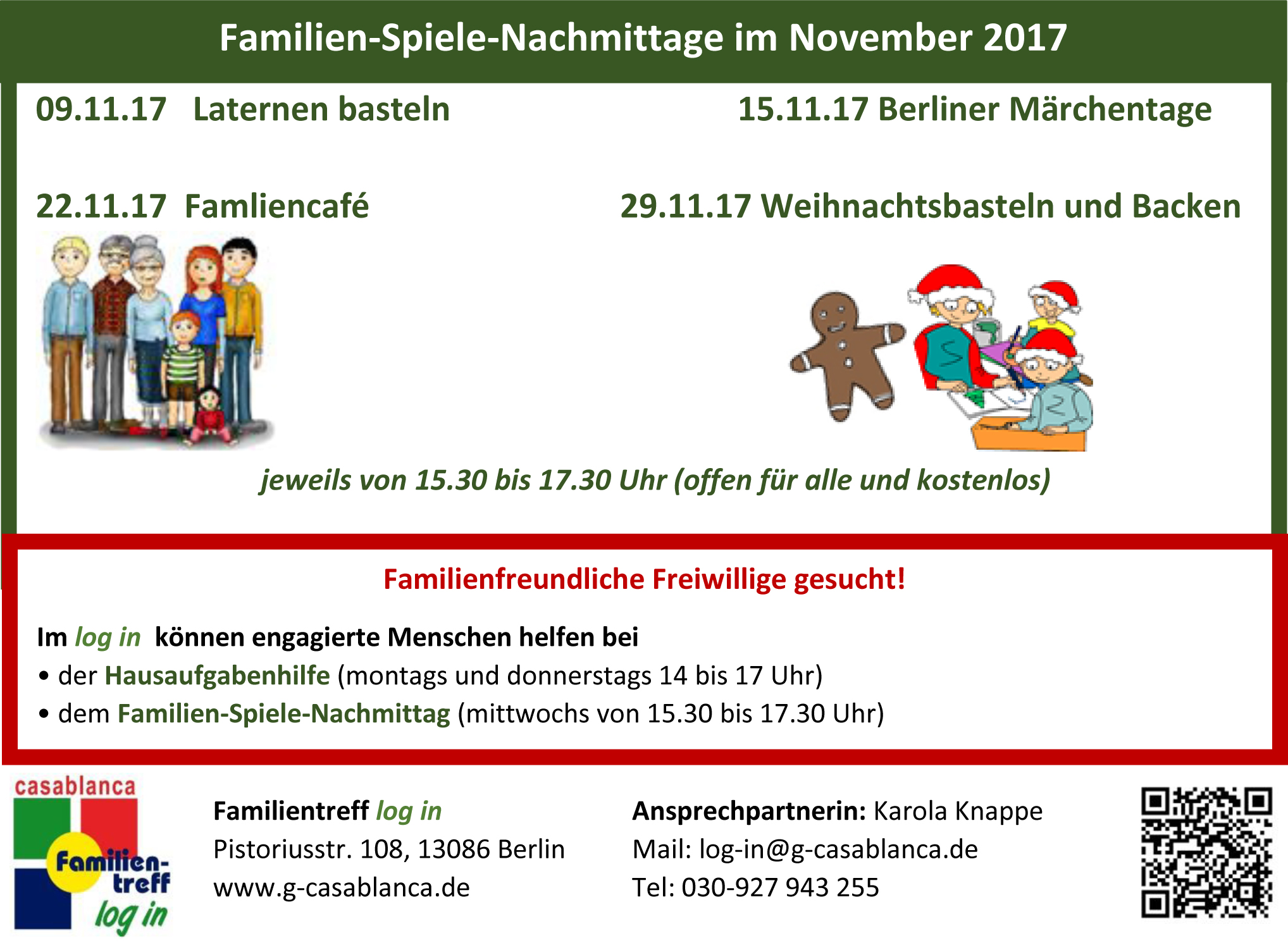 Familientreff login November2017
