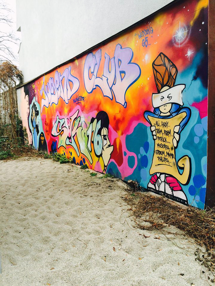 graffiti Hof