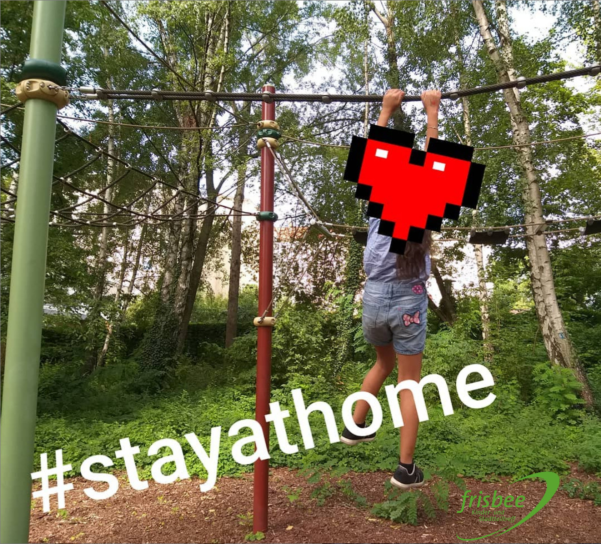 stayhome frisbee