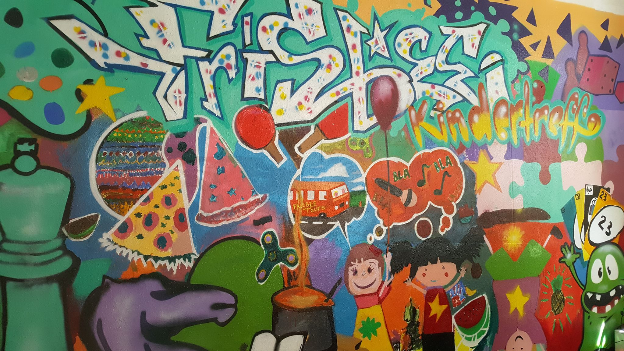 Grafitti frisbee2