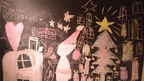 Weihnachstafel